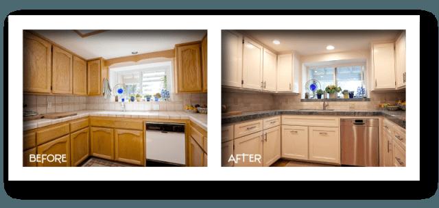 beautiful new kitchen renovations.