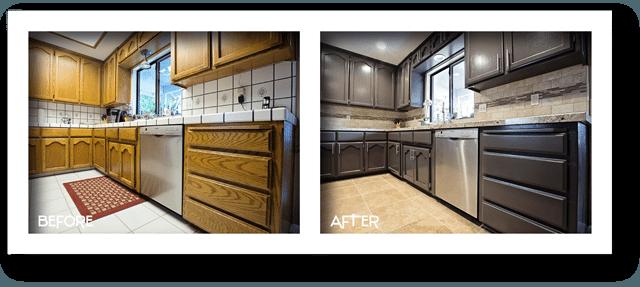 stunning kitchen remodel.