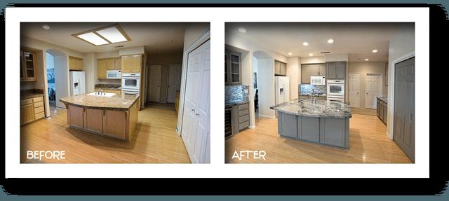 modern kitchen remodel modesto.