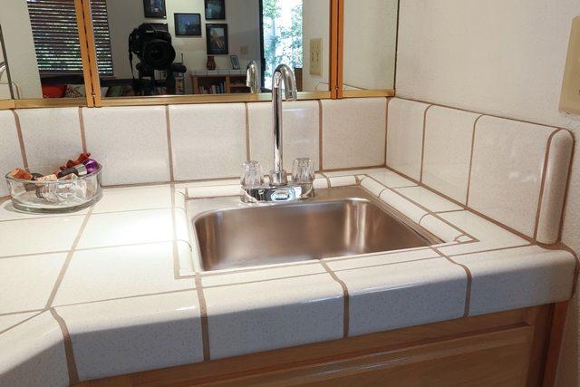 mini kitchen sink.