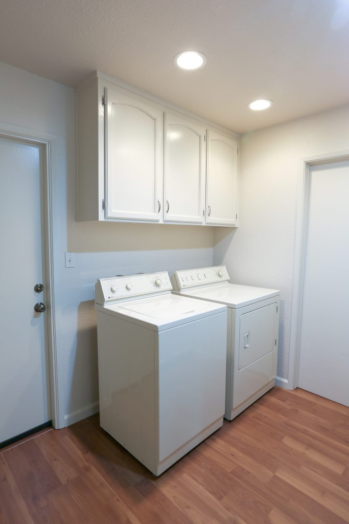 laundry room remodel.