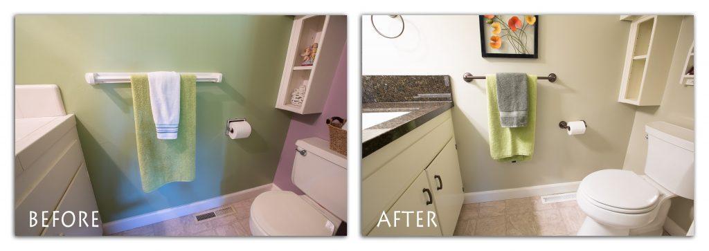 custom utility bathroom.