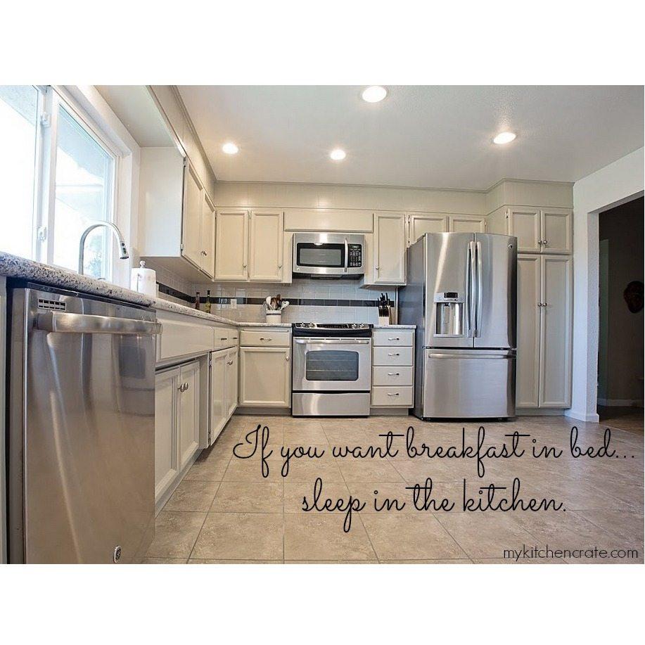 Sleep in the Kitchen!