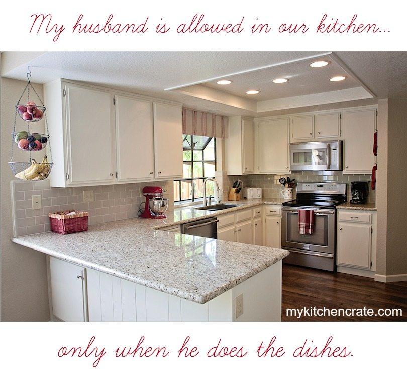 kbCRATE kitchen joke.