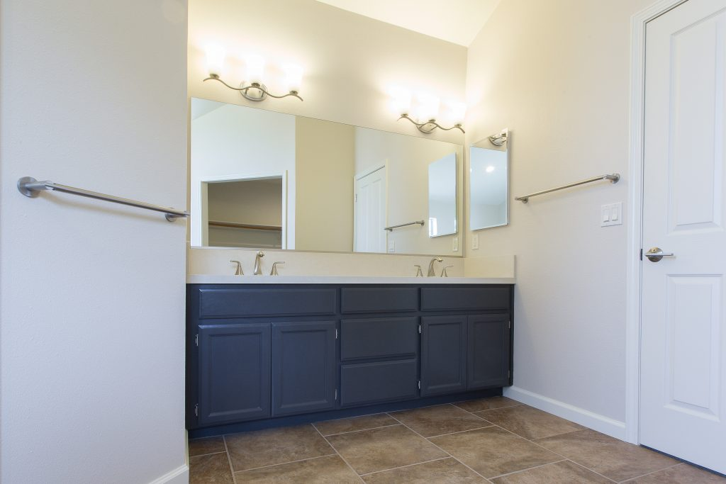 Yosemite Blvd, La Grange bathroom remodel.