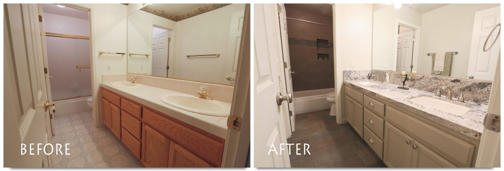 bathroom remodel in Escalon.