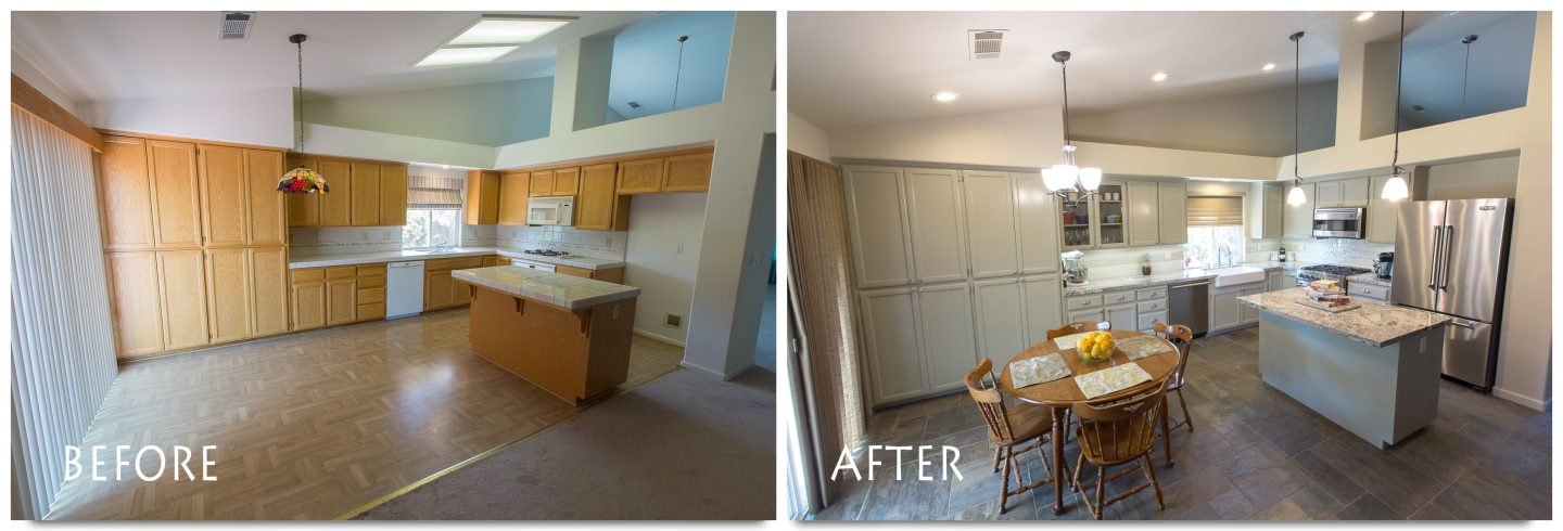 Kitchen Remodel in Escalon.