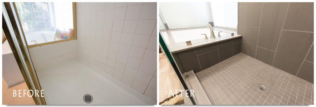 Livermore bathroom remodel.