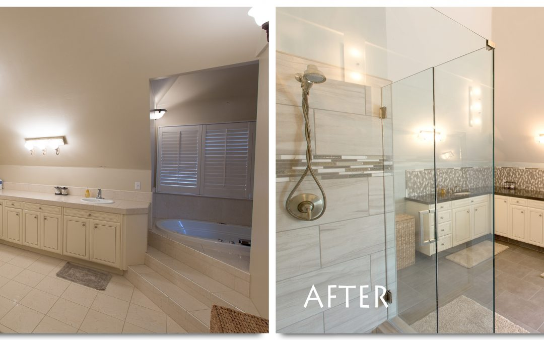 Bathroom Remodel Complete – bathCRATE Countryview Drive, Modesto Master Bathroom