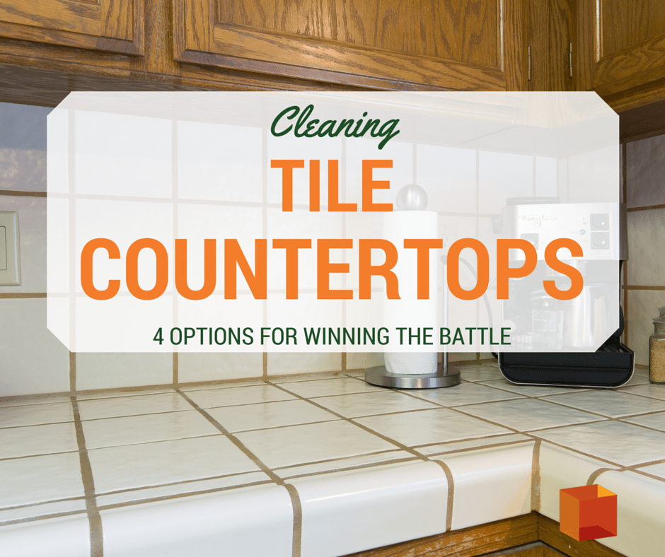 4 Great Ways To Clean Tile Countertops Kitchen Bath Crate Tips