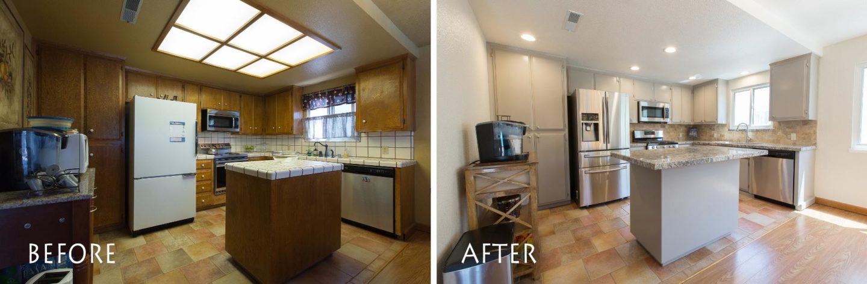 Kitchen Remodel Merced Complete - kitchenCRATE Saratoga Avenue
