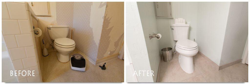 new toilet remodel.