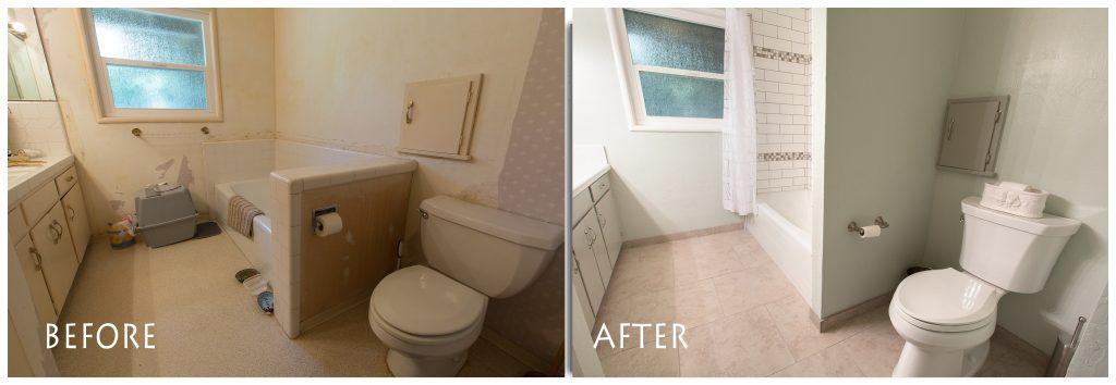 new bathroom remodel.