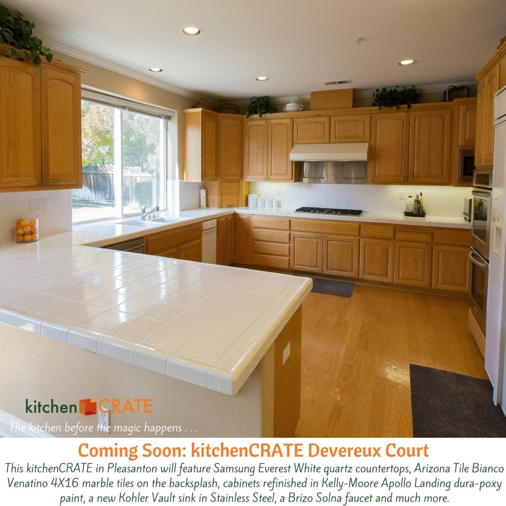 KitchenCRATE Devereux Court Begins in Pleasanton, CA
