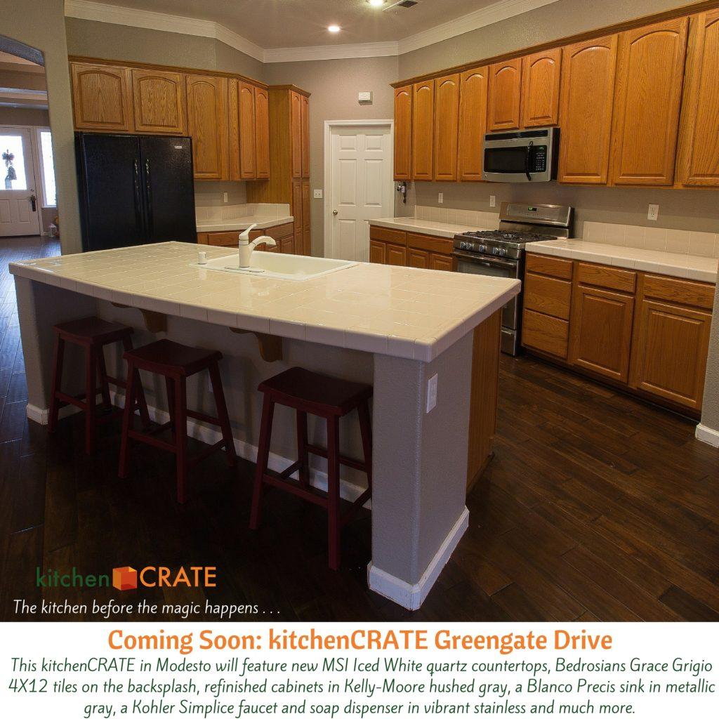 Kitchencrate Greengate Drive Begins In Modesto Ca