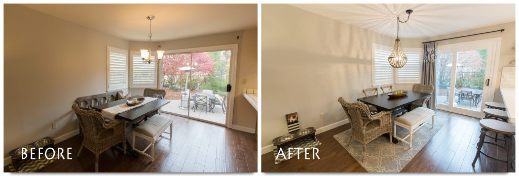 Kitchen and dinning room remodel.