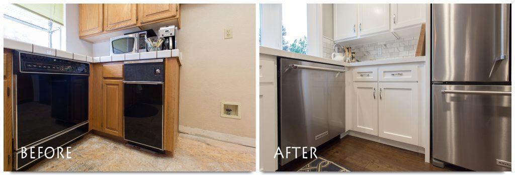 new kitchen appliances.