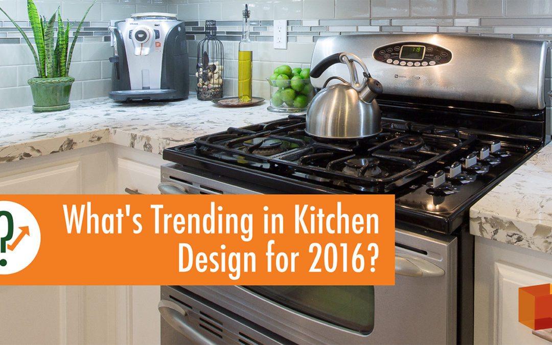 What's Trending in Kitchen Design for 2016? - kitchen ...