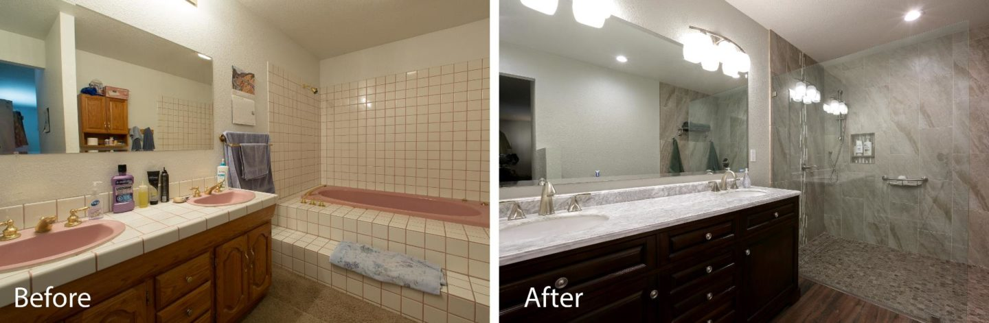 Bathroom Renovation In Modesto Bathcrate Sycamore Avenue