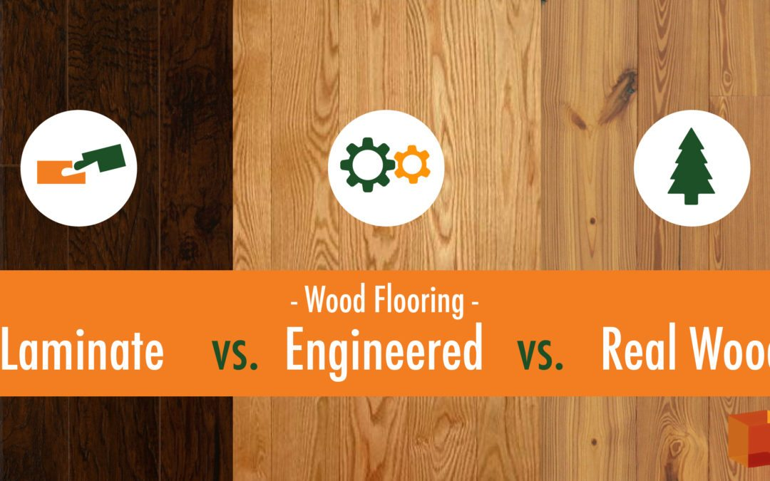 Laminate Engineered Wood Real Wood Flooring What S The