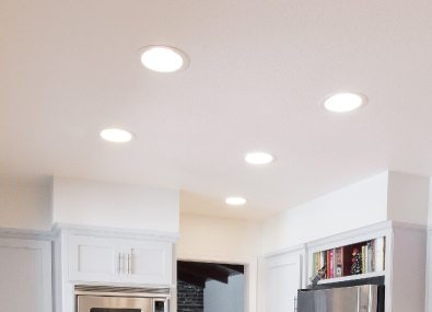 Functional Recessed lighting.