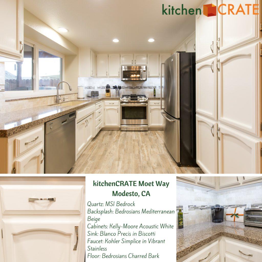 kitchen remodel Moet Way in Modesto, CA.