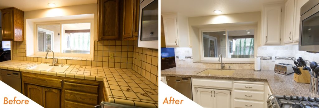 New backsplash and no more grout!