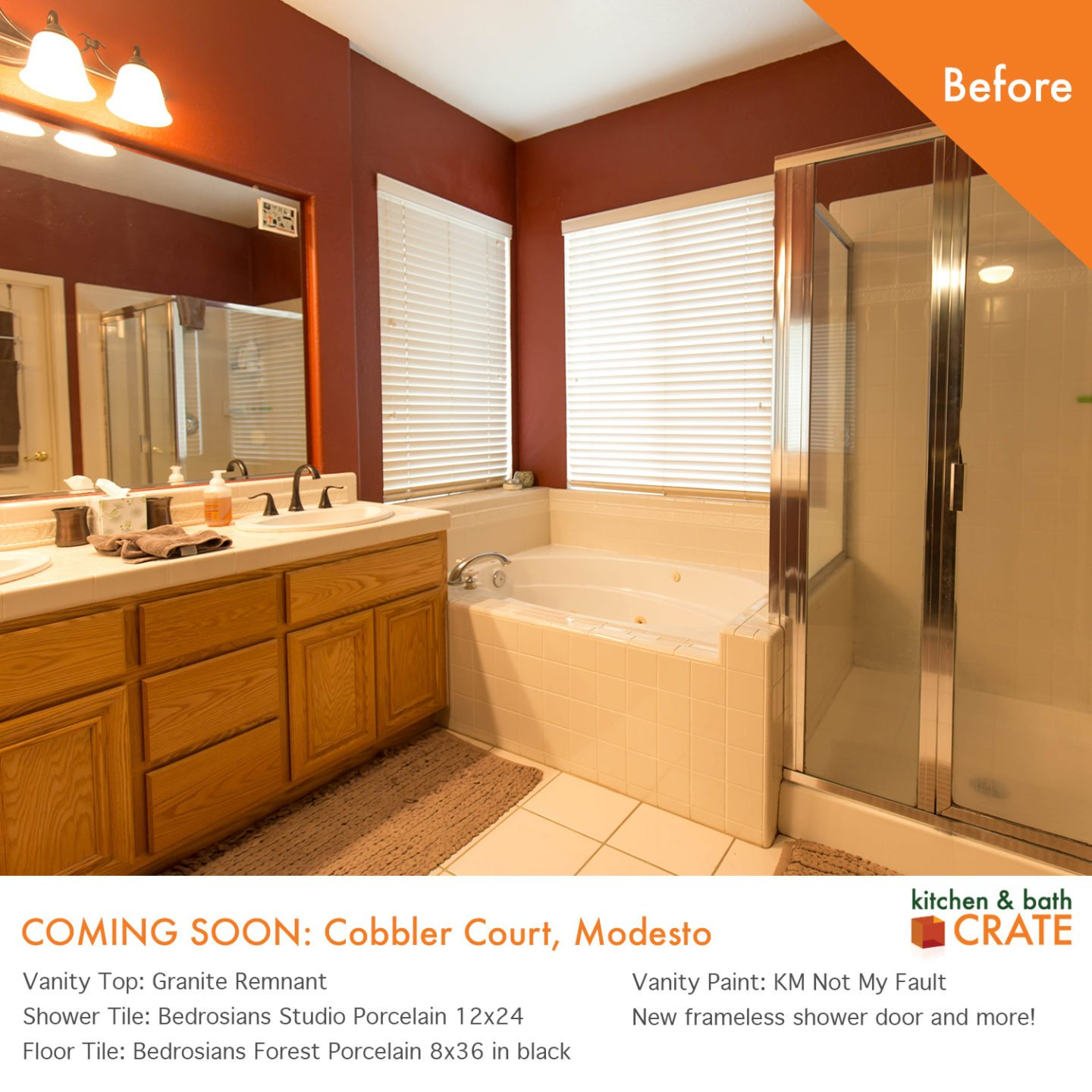 Bathroom Remodel Modesto Bathcrate Cobbler Court Is