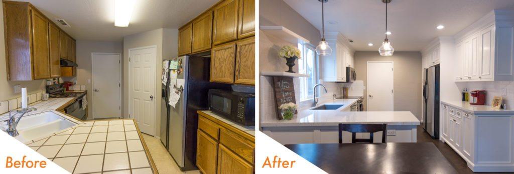 Custom kitchen cabinets kitchen remodel.