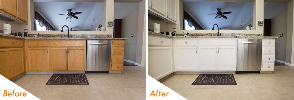 cabinet refinishing in Riverbank, CA.