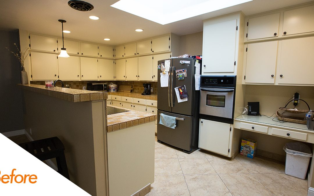Two Tone Kitchen Cabinets Kitchencrate Amherst Avenue In Modesto