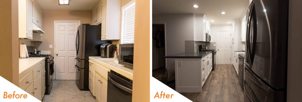 custom kitchen remodel.