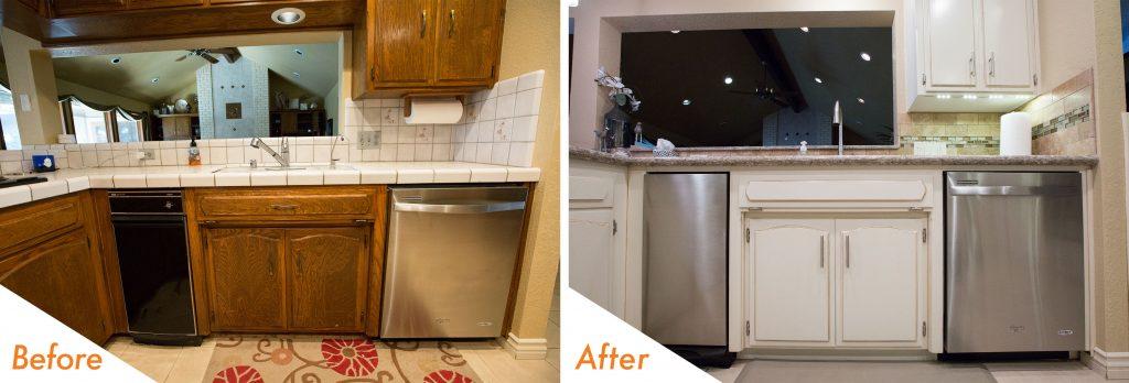 modern appliance kitchen remodel.