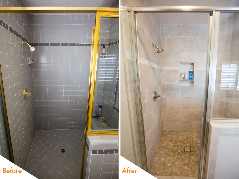 brand new custom bathroom renovation.