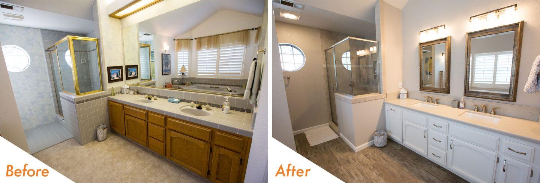 bathroom remodel in Ripon, CA.