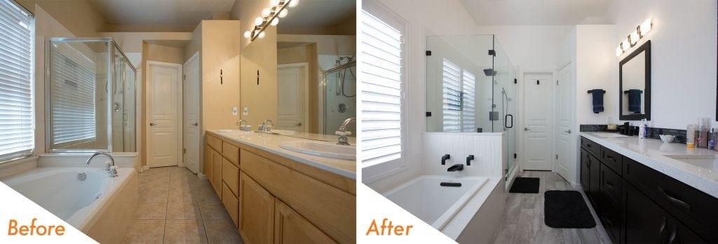 Modern bathroom design ideas.