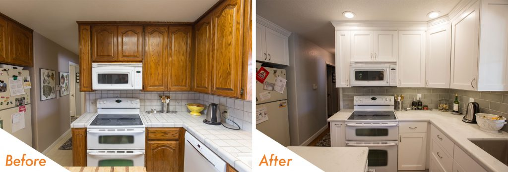 custom kitchen renovation.