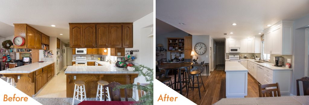 kC Custom Kitchen Renovation.