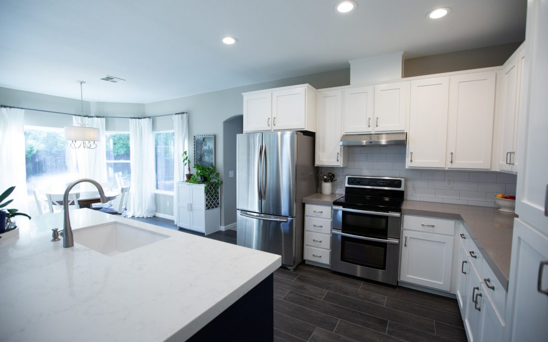 Kitchen remodel in Turlock, CA.