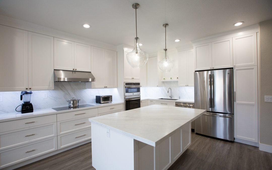 KitchenCRATE Custom Blue Oak Court in Turlock, CA is Complete!