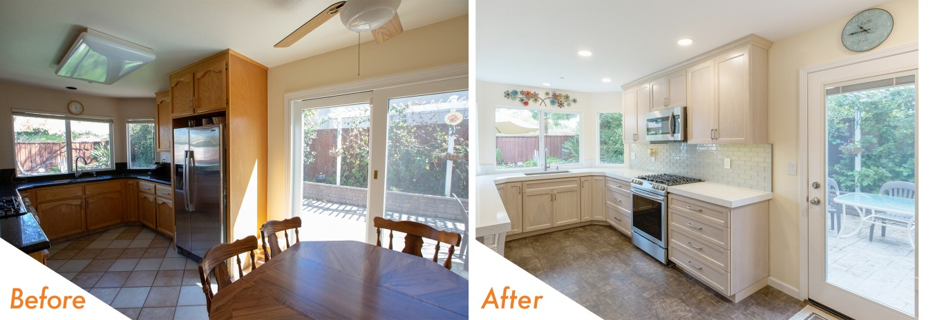 kcc Daisyfield Drive before and after remodel.